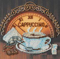 "Вышивка бисером ""Кофе и шоколад"" (200х200 мм)"