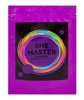 """Соль для ванн """"She Master"""" (150 г; фиолетовый)"""