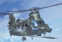 "Транспортный вертолет ""MH-47 E Soa Chinook"" (масштаб: 1/48)"