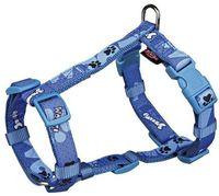 "Шлея для собак ""Modern Art H-Harness Woof"" (размер S-M, 40-65 см, голубой, арт. 15225)"