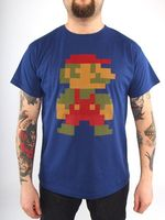 "Футболка ""Super Mario 8bit""  (размер - L)"