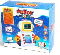 """Развивающая игрушка """"Робот Шунтик"""" (со звуковыми эффектами; 60 карточек)"""