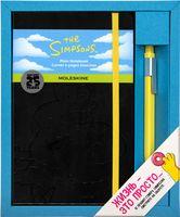 """Набор подарочный Молескин """"The Simpsons"""" (большой; твердая черная обложка)"""