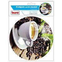 Коврик для мыши Buro BU-T60051 (рисунок/кофе)