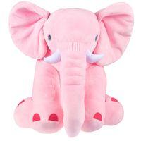 """Мягкая игрушка """"Слон Элвис"""" (46 см; розовый)"""