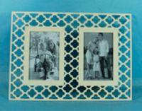 Фоторамка деревянная на 2 фотографии (10х15 см)