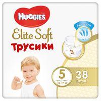 """Подгузники-трусики """"Huggies Elite Soft Mega 5"""" (12-17 кг; 38 шт.)"""