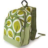 Рюкзак изотермический матерчатый с хладоэлементом зеленый (41*33*14 см)