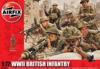 "Набор миниатюр ""Британская пехота WW.II"" (масштаб: 1/72)"