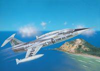 """Истребитель """"F-104 A Starfighter"""" (масштаб: 1/72)"""