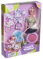 "Кукла с коляской ""Lucy's Weekend"""