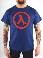 "Футболка ""Half Life - Logo Lambda""  (размер - L)"
