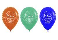 """Набор воздушных шаров """"С Днем Рождения"""" (10 шт.; в ассортименте)"""