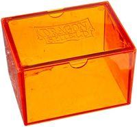 """Коробочка для карт """"Dragon Shield"""" (100 карт; оранжевая)"""