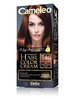 """Крем-краска для волос """"Cameleo"""" (тон: 7.46, средний медно-рыжий)"""