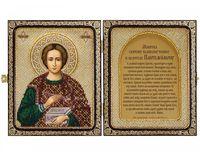"""Набор для вышивания """"Св. Великомученик и Целитель Пантелеймон"""" (230х140 мм)"""
