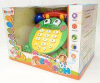 """Развивающая игрушка """"Зеленый телефон"""" (с обучающими карточками)"""