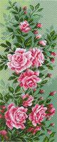 """Канва с нанесенным рисунком """"Розы"""""""