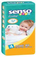 "Подгузники ""Senso baby Ecoline. Maxi"" (7-18 кг, 40 шт)"