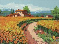 "Картина по номерам ""Цветущее поле"" (400х500 мм)"