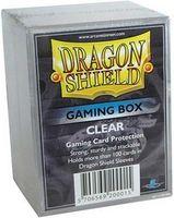 """Коробочка для карт """"Dragon Shield"""" (100 карт; прозрачная)"""