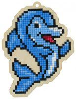 "Алмазная вышивка-мозаика ""Брелок. Дельфин"" (87х115 мм)"