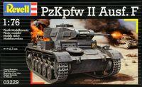 """Сборная модель """"Немецкий легкий танк PzKpfw II Ausf. F"""" (масштаб: 1/76)"""