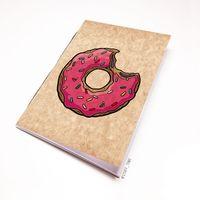 """Блокнот крафт """"Пончик. Симпсоны"""" А5 (001)"""