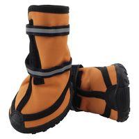 Ботинки (6,5х6х7,5 см; рыжие)