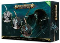 Warhammer Age of Sigmar. Nighthaunt. Glaivewraith Stalkers+Paint Set (60-09-60)