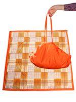 """Коврик-трансформер """"Оранжевая клетка"""" (арт. KTR02-014)"""