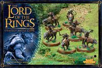 "Набор миниатюр ""LotR/The Hobbit: Warg Riders"" (06-30)"