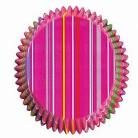 """Набор форм бумажных для выпекания кексов """"Полосы"""" (100 шт; арт. WLT-415-5380)"""
