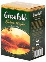 """Чай черный листовой """"Greenfield. Golden Ceylon"""" (200 г)"""