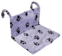 """Гамак для кошек """"Лапки"""" (43х32х20 см; серый)"""