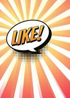 "Открытка ""Like"""