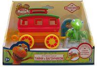 """Игровой набор """"Поезд динозавров. Тайни с вагончиком"""""""