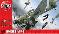 """Бомбардировщик """"Junkers Ju87-B Stuka"""" (масштаб: 1/72)"""