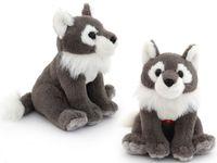"""Мягкая интерактивная игрушка """"Wiki Zoo. Волк"""""""