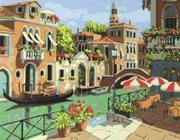 """Картина по номерам """"Венецианский канал"""""""
