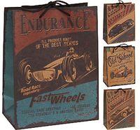 Пакет бумажный подарочный (в ассортименте; 26х12х33 см; арт. C37777040)