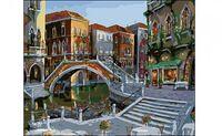 "Картина по номерам ""Улицы Венеции"" (400x500 мм)"