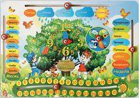 """Деревянная игрушка """"Календарь"""" (арт. IG0041)"""
