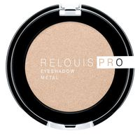 "Тени для век ""Relouis Pro Eyeshadow Metal"" (тон: 53, oh my gold)"