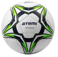"""Мяч футбольный Atemi """"Attack"""" №5 (бело-сине-салатовый)"""