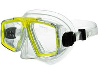 Маска для плавания 424 (ПВХ; жёлтая)