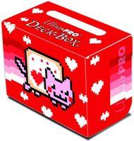 """Коробочка для карт """"ValentNyan Cat"""" (80 карт)"""