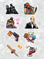 "Набор наклеек ""Бэтмен"""