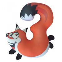 """Игрушка-антистресс """"Цифры. Животные"""" (34 см; оранжевый)"""