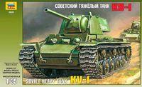 Советский тяжелый танк КВ-1 (масштаб: 1/35)